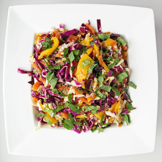 Papaya: Spicy Mango, Papaya, and Cabbage Slaw