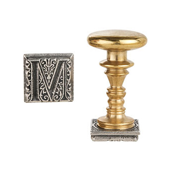 This elegant gold wax seal stamp ($25) would bring an old-school touch to her correspondence.