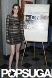 Kristen Stewart attended a special screening of On the Road in NYC.