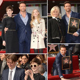 Hugh Has Anne, Amanda, and His Wife Close to Accept His Hollywood Star