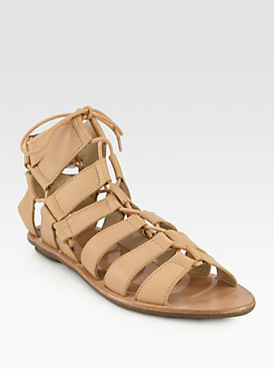 With an upcoming trip to Costa Rica, I've got Resort wear on my mind. These Loeffler Randall Skye Leather Gladiator Sandals ($225) would be my footwear of choice. Perfectly supple leather, leg-elongating nude hue — I can think of no better shoe to vacation in style.  — Hannah Weil, associate editor