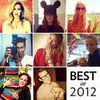 Best Celebrities on Social Media 2012