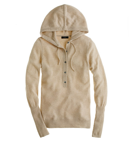 When J.Crew made this cashmere getaway hoodie ($218), did they know I would immediately fall madly in love? It's the perfect go-between for a lazy-day feel with all the perks of a luxe texture and tailored fit . . .  You get the picture.  — Marisa Tom, associate editor