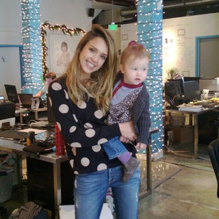 Celebrity Moms' Instagram Pictures Week of Dec. 8, 2012
