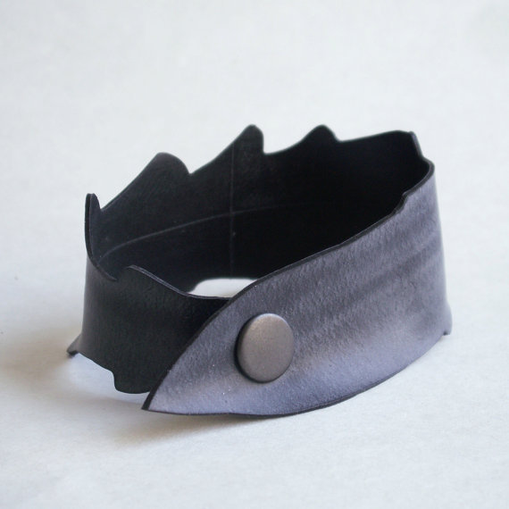 Upcycled Inner Tube Cuff