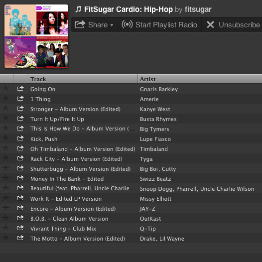 Cardio Hip-Hop Favorites