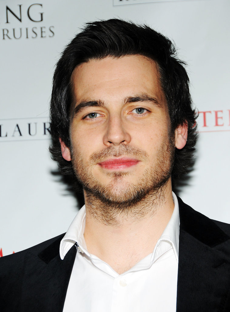 Rob James-Collier looks good with scruff.