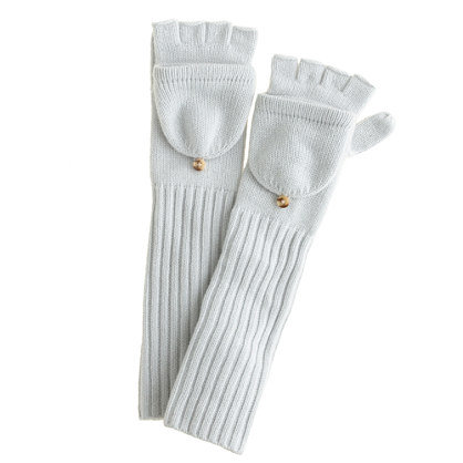 Chances are she already owns a pair of gloves, and probably a pair of mittens — but does she own glittens? Get her in on the phone-friendly style with these luxurious cashmere long glittens ($78, originally $98).