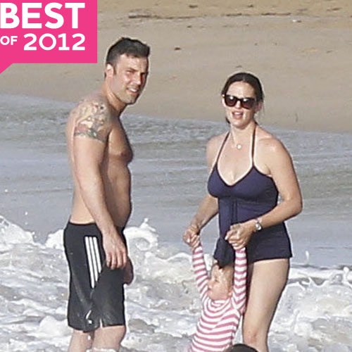 Highlights From Ben Affleck and Jennifer Garner's 2012