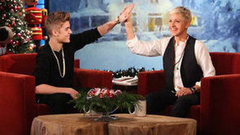 Video: Justin Bieber's Grammy Snub Gets Him a Pep Talk From Ellen