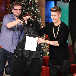 Justin Bieber Ellen DeGeneres Interview (Video)