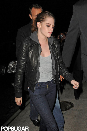 Kristen Stewart was promoting On the Road in NYC.
