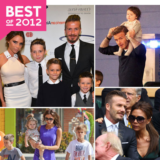 The Beckham Family's Big 2012!