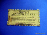 Willy Wonka Money Ticket