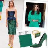 Pantone named emerald the color of 2013. Time to stock up!