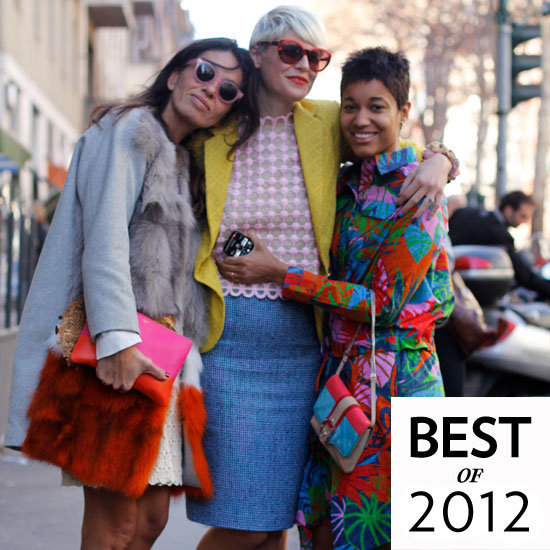 It's all here — the best street style of 2012.
