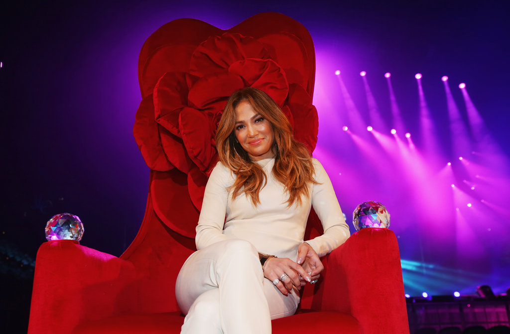 Jennifer Lopez struck a pretty pose — ahead of her Aussie concerts — at a press call in Melbourne on December 11.