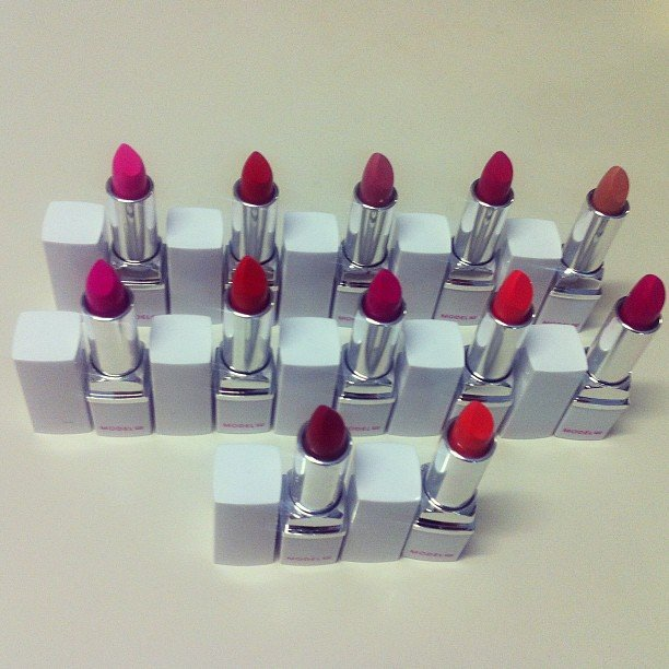 Model Co lipsticks in every colour we could ever want. Swoon!