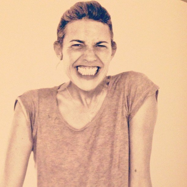 All hail Isabel Marant. This lady is the coolest of cool, and what a smile!