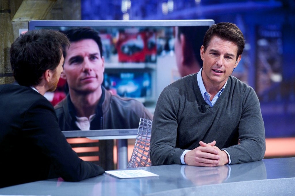 Tom Cruise talked up Jack Reacher on El Hormiguero.