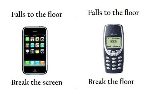 January: Indestructible Nokia