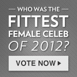 Who Was the Fittest Female Celeb of 2012?