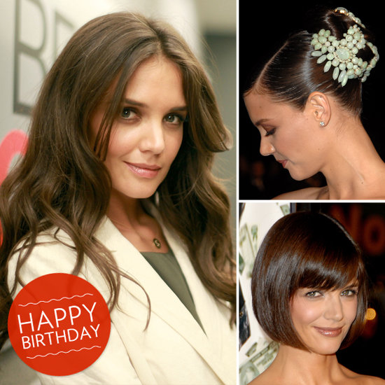 Happy Birthday, Katie Holmes! See 9 of Her Best Beauty Moments