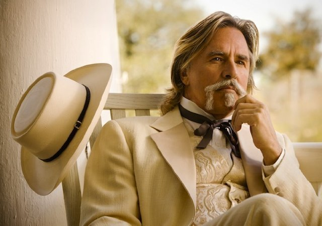 Don Johnson in Django Unchained. Photos courtesy of The Weinstein Co.
