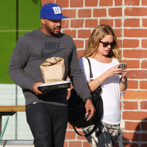 Donald Faison and CaCee Cobb Day After Wedding | Pictures