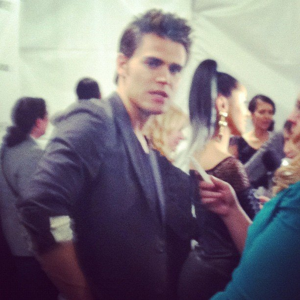 Paul Wesley gave us a sexy vampire stare during March's LA PaleyFest.