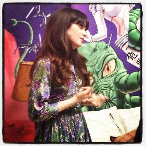 In January, Zooey Deschanel showed us around the set of New Girl.