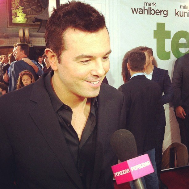 We caught up with the endlessly entertaining Seth MacFarlane at the premiere of Ted.