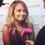 We chatted up Nicole Richie and asked her to divulge a few of her beauty secrets at Macy's Glamorama.