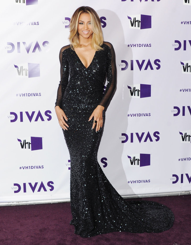 Ciara walked the red carpet.