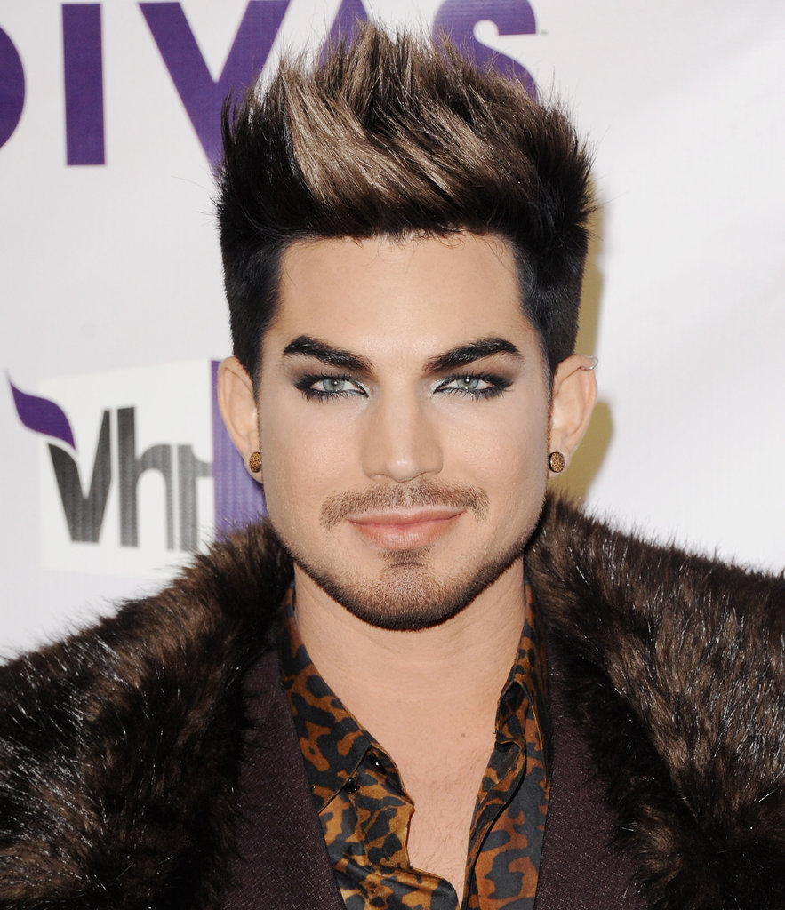 Host Adam Lambert walked the red carpet.