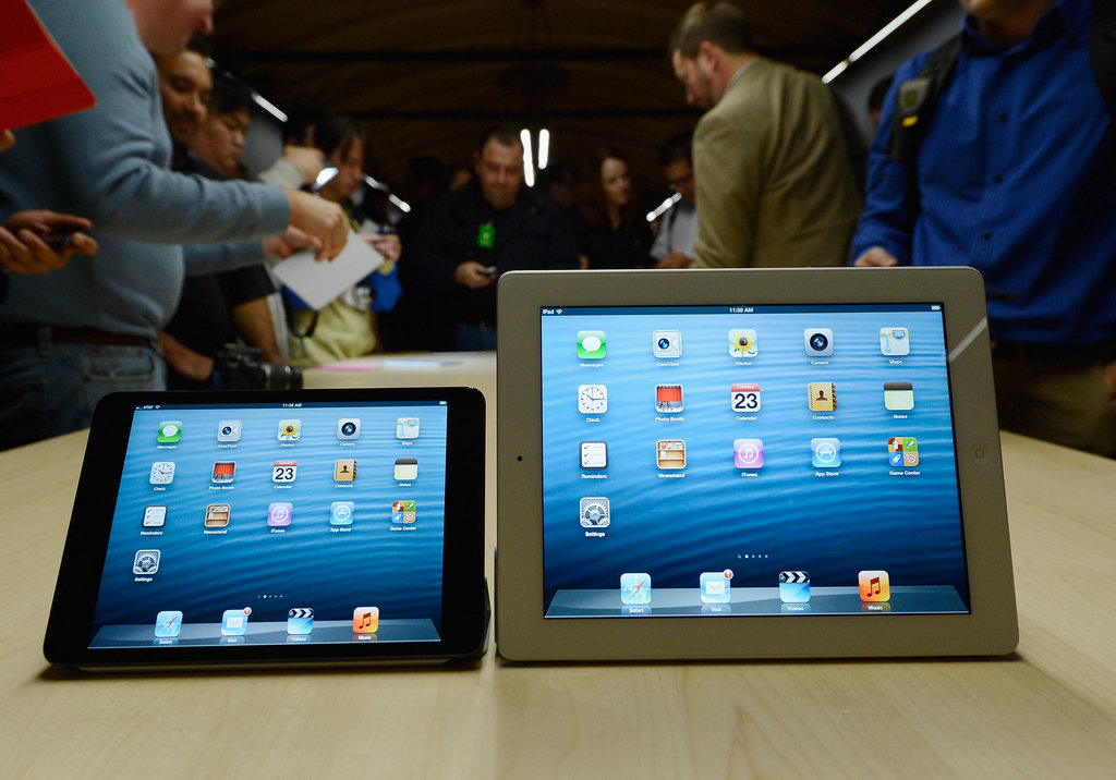Reveal of the iPad Mini and iPad 4