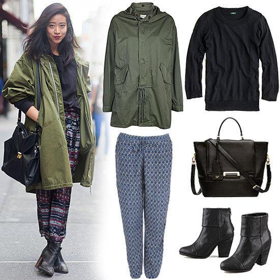 How to Wear Ankle Pants in Fall How to Wear Pajama Pants