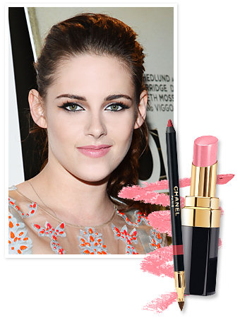 Found It! Kristen Stewarts Petal Pink Lip Color