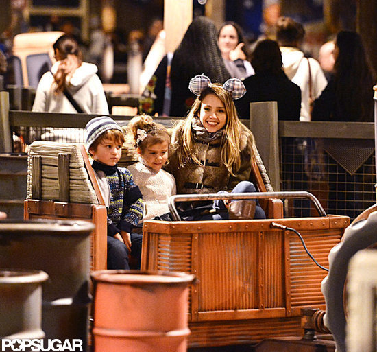 Jessica Alba Takes a Magical Family Trip to Disneyland