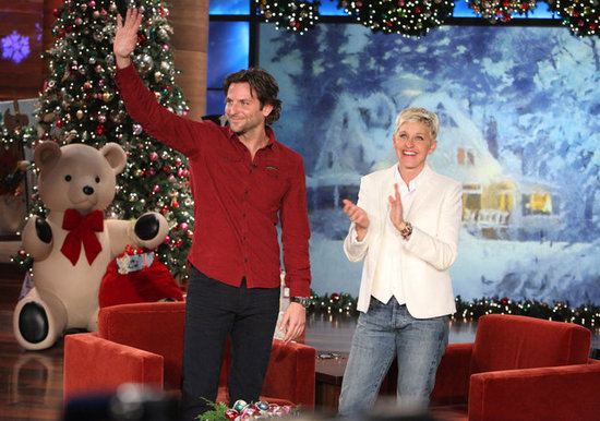 Bradley Cooper made an appearance on The Ellen DeGeneres show.