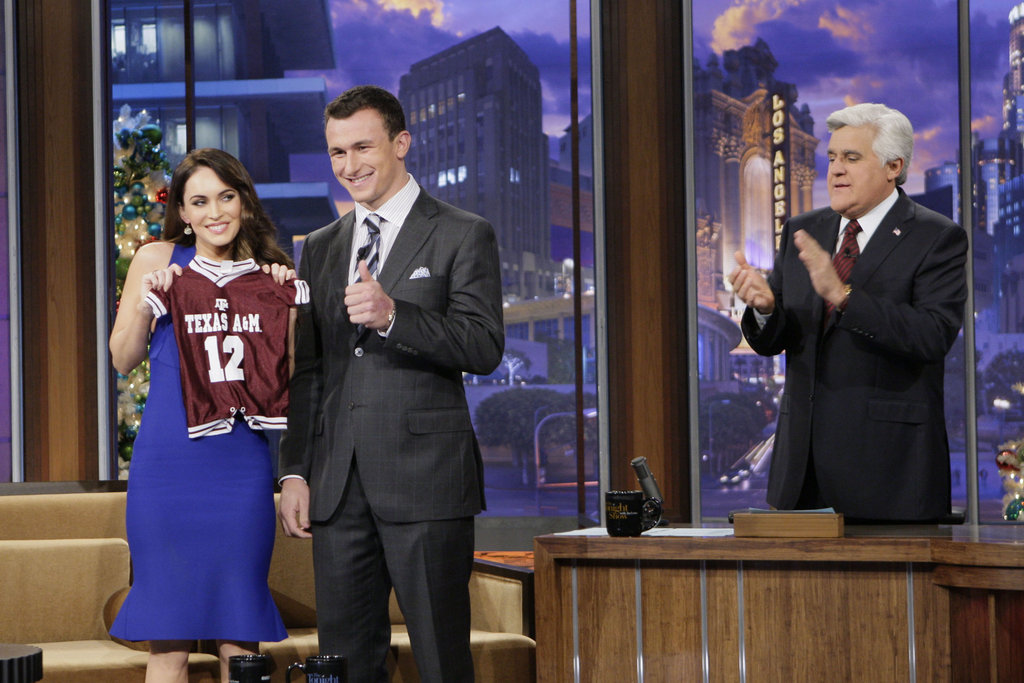 Megan Fox scored a Texas A&M jersey for Noah.