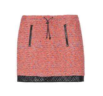What makes Proenza Schouler's tweed miniskirt ($454, originally $1,135) so special is the drawstring detail. It lends it a sporty feel.