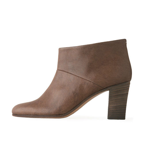 The simplified silhouette and stacked wood heel means these  Maison Martin Margiela Line 22 Ankle Boot ($508, originally $725) will go with just about anything in your closet — making them well worth the investment.