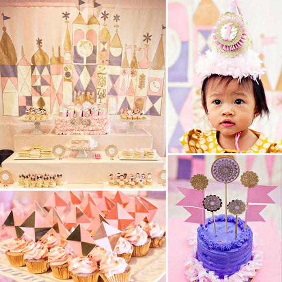 It's a (Lovely) Small World First Birthday Party