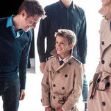 Bend it Like Beckham: Mario Testino Snaps Romeo Beckham for Burberry