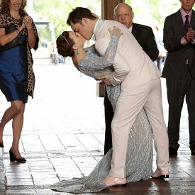 Chuck and Blair's Wedding Pictures on Gossip Girl ...