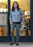 Jennifer Garner went shopping at Barneys in LA.