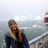 Bar Refaeli shared a photo from her trip to Greenland. Source: Instagram user barrefaeli