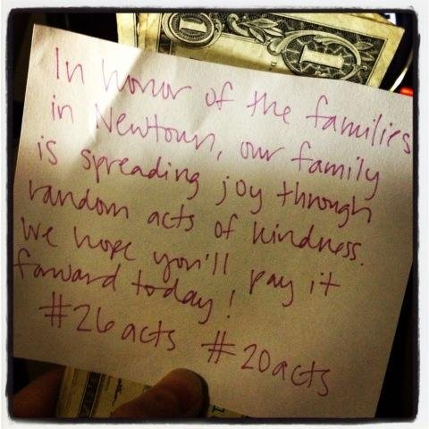 #26Acts and How You Can Honor Sandy Hook Elementary School Victims