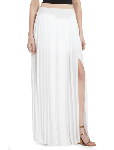 We're major proponents of white in the Winter and this BCBGMAXAZRIA white pleated maxi skirt ($258) would look amazing paired with a matching white sweater and brown lace-up booties.